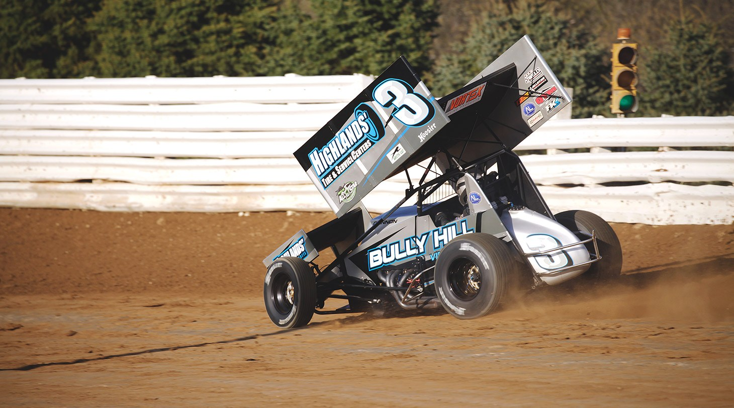 Pat Cannon qualifying at the ASCoC race in Selinsgrove, Pa 2016
