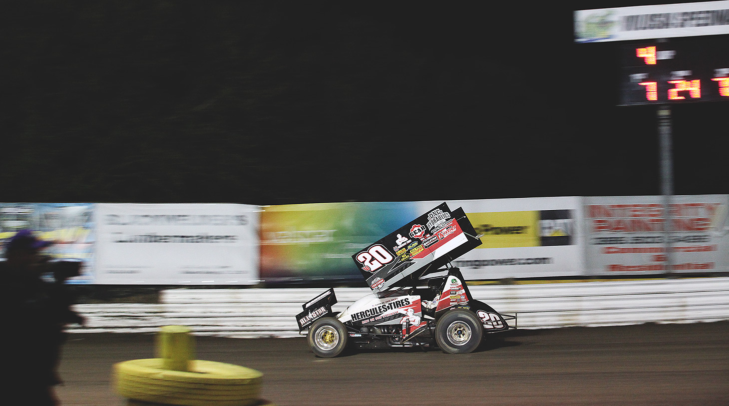 Greg Wilson was the 2015 Ohio Speedweek champion