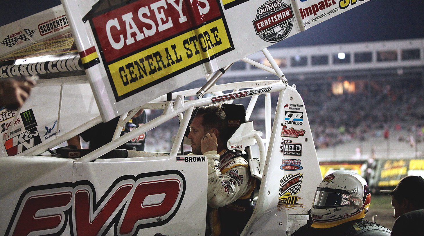 Brian Brown is a 3-time runner-up at The Knoxville Nationals
