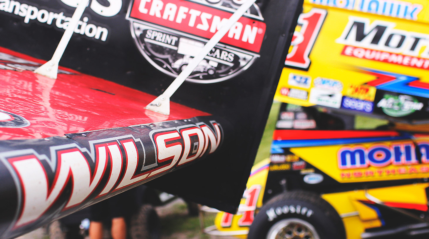 Greg Wilson currently leads the Rookie of the Year standing with The World of Outlaws