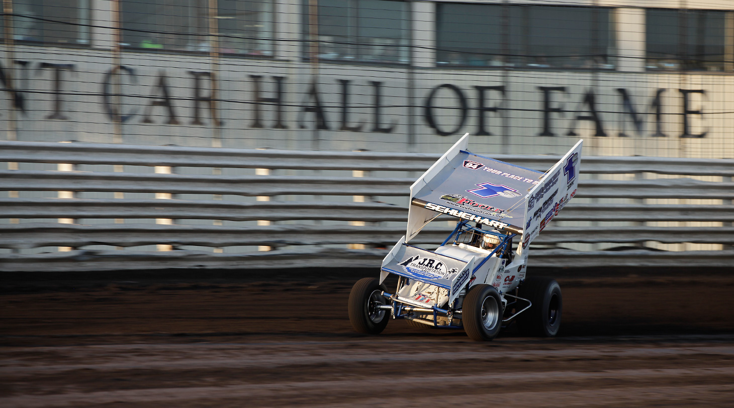 Logan Schuchart qualified for his first Knoxville Nationals in 2016